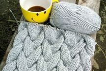 INSPIRACE NA teplejší svetry,vesty / upletené a uháčkované na zahřátí