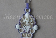 quilling jewels
