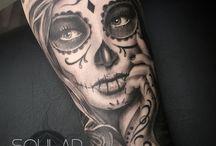 Catrina tattoo 1