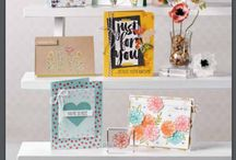 2016 Sale-A-Bration / these handmade cards, decor items, and others are made specifically using products featured in Stampin' Up!'s 2016 Sale-A-Bration catalogue, which runs from Jan. 5, 2016 - March 31, 2016