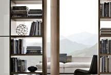 Bookcases livingroom