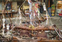 pirate boats...