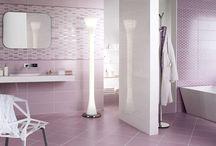 Színek: RÓZSASZÍN & LILA fürdőszobák