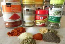 Seasonings and Sauces / www.anexpatcooks.com