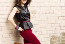 Lindsey Stirling /   Make sure to check her youtube channel, she makes amazing music and videos.