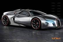 Car - Bugatti / by Veren Evania