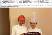 Lachoco en Japón / El Hotel Hilton de Tokio y la Embajada de Colombia en Japón nos invitó del 18 de octubre al 3 de noviembre a viajar para trabajar con el cacao y el chocolate colombiano.  Los invitamos a acompañarnos mientras a exponemos nuestro trabajo y descubrimos esta ciudad... ¡Gracias a todos por su apoyo y por creer en el chocolate :)!