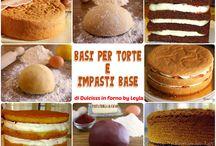 Basi per torte