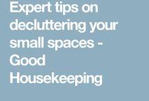 Expert tips on decluttering