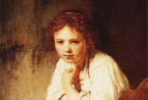Rembrandt (like) child