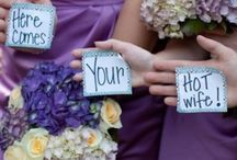 cute wedding hijinks / by Floral Occasions by Kelli