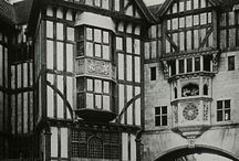 Old Buildings / Collection of interesting buildings that inspire model building for fantasy settings, both for RPGs and writing settings - see Model pinboard