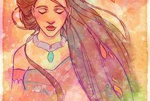 Disney Princess / For my fave disney princesses. Mostly Tangled, Cinderella, Belle and Pocahontas.