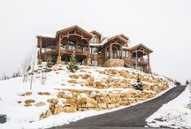 Interlaken Way - Midway / As Lane Myers Construction expands into the Midway area, we have had the immense pleasure of crafting this beautiful vacation home. Located in the Interlaken community, this home boasts breathtaking views of the entire Heber Valley. Situated up on the hill, this is a home everyone can view from anywhere down in the valley. With spacious living areas and wide windows for optimal views, we are proud to add this home to our portfolio and look forward to expanding even further into the Heber Valley.