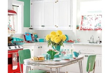 Retro kitchen / by Laura Millspaugh