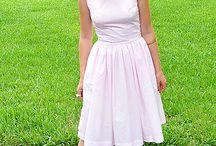 Retro Dress Design