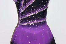 Ice skating dresses