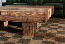 Mountain Modern Lifestyle / Some of our clients today are interested in modern rustic style furnishings. Here are a few things that we like. (info@LuxWest.com)