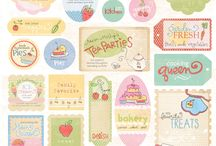 Recipe Cards/ Kitchen stuffs