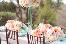 Floral Centrepieces and Accents