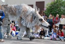 Giant Puppets and Parades / Larger than life, giant exhibition, parade and theatre puppets