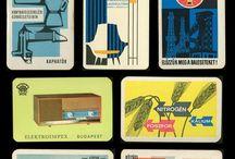 • Illustration et design vintage • Vintage packaging and illustration •