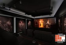 Havana Rock / Home theatre in Wollongong NSW Australia designed by Wavetrain Cinemas. Seating by Jaymar.