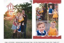 Photoshop Christmas Card Templates for Photographers / Christmas Card PSD Templates for Photographers Ideas