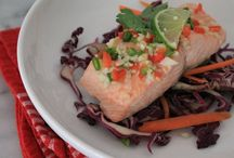 Heart-Healthy Recipes / Recipes with heart-healthy ingredients and low-cal preparations.