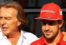 Fernando Alonso e Luca Cordero di Montezemolo