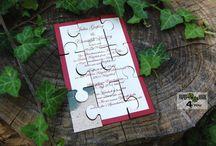 Puzzle Wedding Ideas