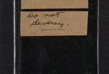 Little Black Books / Before smartphones and computers, traditional address books stored important, and sometimes confidential, contact information and other details.  http://www.aaa.si.edu/exhibitions/little-black-books / by Smithsonian's Archives of American Art