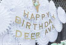 birthday parties!  / by Kristin White