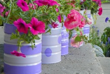 Flower Pots Galore / by Kim McFadden