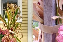 MIX AND MATCH FALL FLORALS AND GOURDS FOR A HALLOWEEN GARDEN