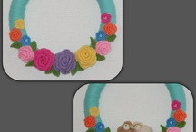 Crochet and other wreaths