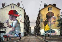 Street Art. Pouliční umění.