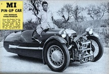 Morgan 3 wheeler articles and promotion