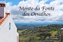 Monte da fonte dos Orvalhos. / Aldeia dos Orvalhos.