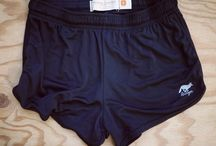 Women's Running Shorts / Runyon Women's Basic Training Running Shorts made from 100% Moisture Wicking Performance Fabric that's milled, cut and sewed in Los Angeles.  Rock the trail with Runyon Canyon Apparel.