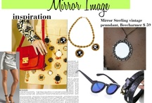 Polyvore Collages/ Trend Reports  / mix and match collages highlighting how to wear the latest trends w/ 'charm'...