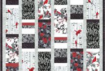 Red White and Black Quilts