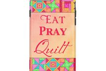Quilt Art Products / Products with colorful quilt art by Phyllis Dobbs. Vibrant colors and favorite plus new patchwork blocks. #quiltart #quilters