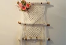 Macrame Art and Deco by Mary C. - yours truly