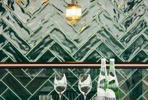 TILE INSPIRATION / Tiles are having a moment. Whether its scalloped, metro, herringbone, chevron or square that floats your boat, whether its encaustic, concrete, glazed or not... green, pink or perhaps just white. There is a tile for everyone.