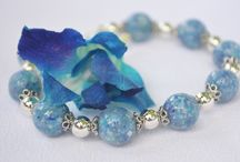 Treasured Blooms Bead Jewelry - Beads made from flower petals