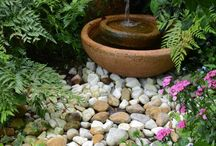 ponds and water features / by Marjorie Simmet