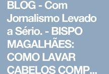 CABELOS COMPRIDOS - TRATAMENTOS.