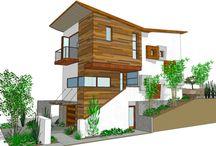 Laine - houses