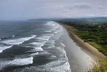 Playa d'Olón, Ecuador, Olón Beach / Olón, Ecuador: The nicest Beach and the loveliest town on the Ecuadorian coast!